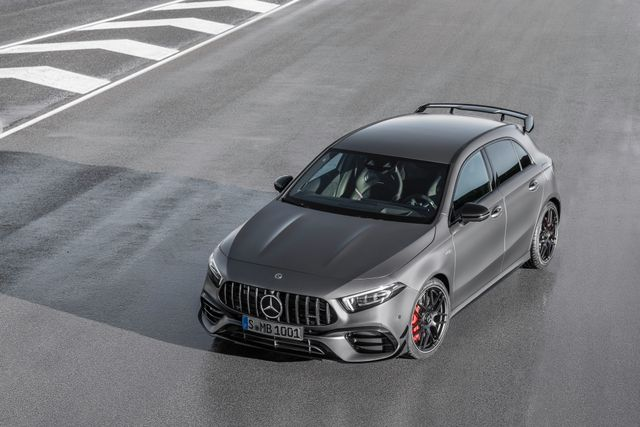 The 415bhp Mercedes Amg A45 S Will Do 0 62mph In 3 9 Seconds