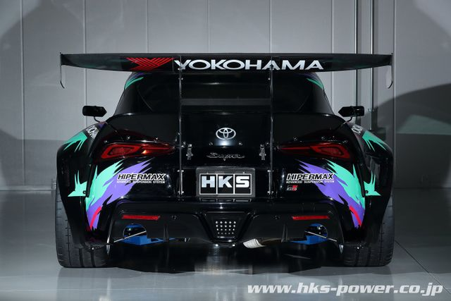 HKS Has Built A 2JZ-Powered A90 Toyota Supra Drift Car With