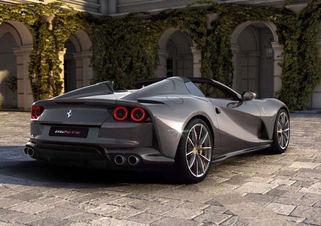 The Ferrari 812 Gts Is The World S Most Powerful Convertible