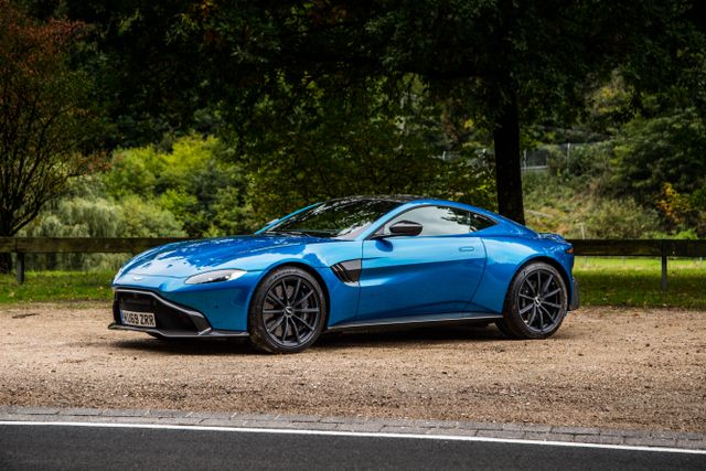 Aston Martin Vantage Amr Review The Manual V8 That Makes You Work For It