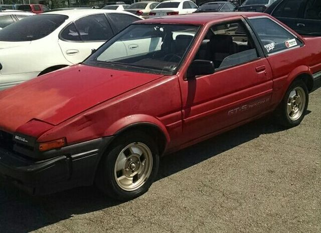 my ae86 restoration story