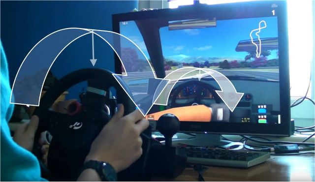 Why do we need a 900° steering wheel in games that can't even turn