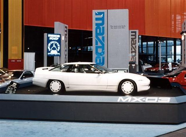 Anyone else wish that Mazda had made the MX-03? The