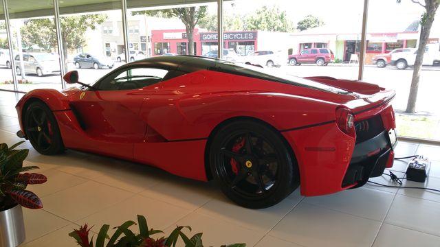 Laferrari At Ferrari Silicon Valley