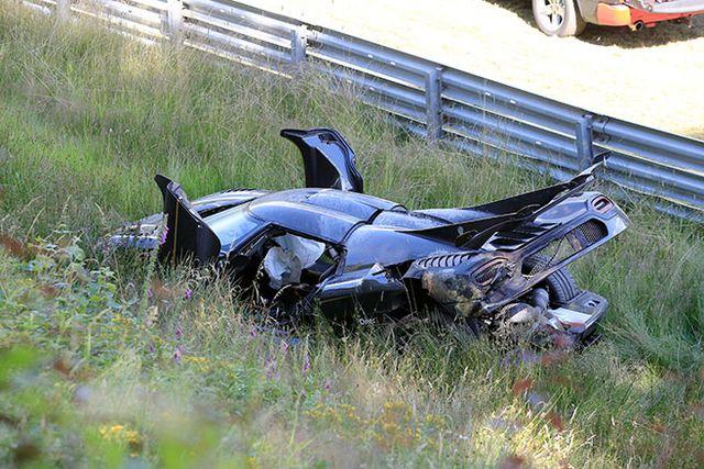 Koenigsegg One 1 >> Koenigsegg One 1 Chassis 107 Crashes At The Nurburgring