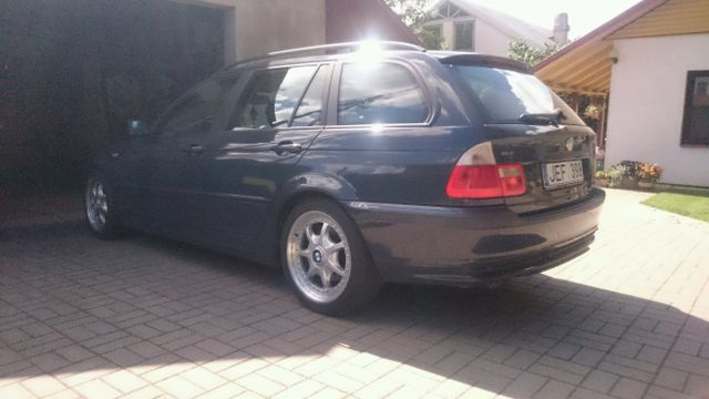 Bmw 320d E46 With Bbs Rt077