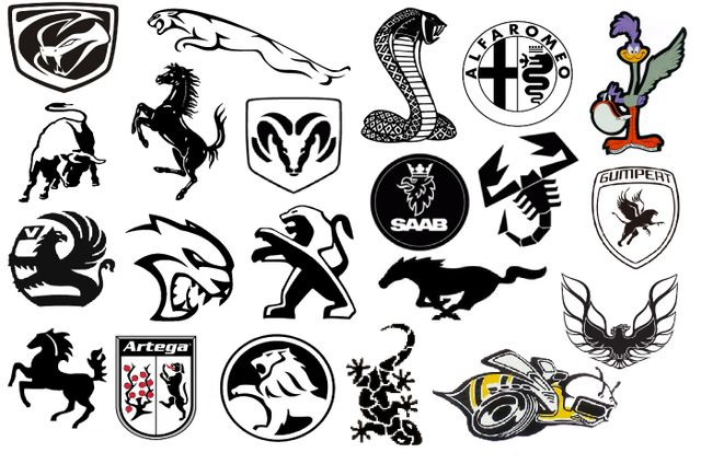 What S Your Favourite Car Logo With An Animal In It The Hellcat For
