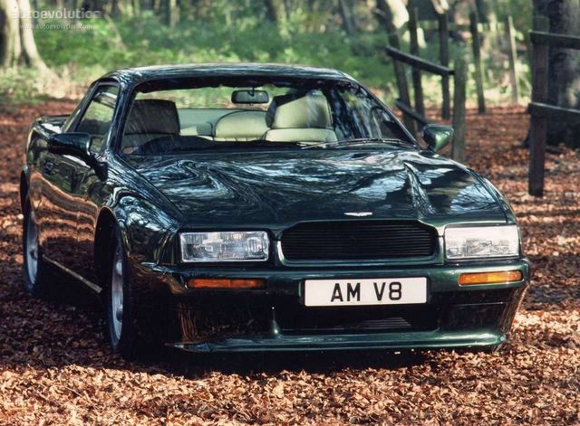 The Aston Martin Virage Vantage V8 Coupe 1990 Confusing Names But Still Beautiful Once Described As A Rolls Royce With Attitude