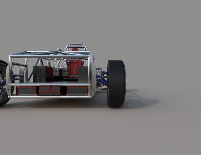 Reworked front suspension geometry + brand new front uprights!