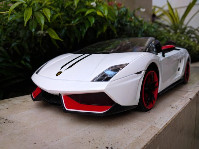A Topless Lightweight Bull Lamborghini Gallardo Spyder