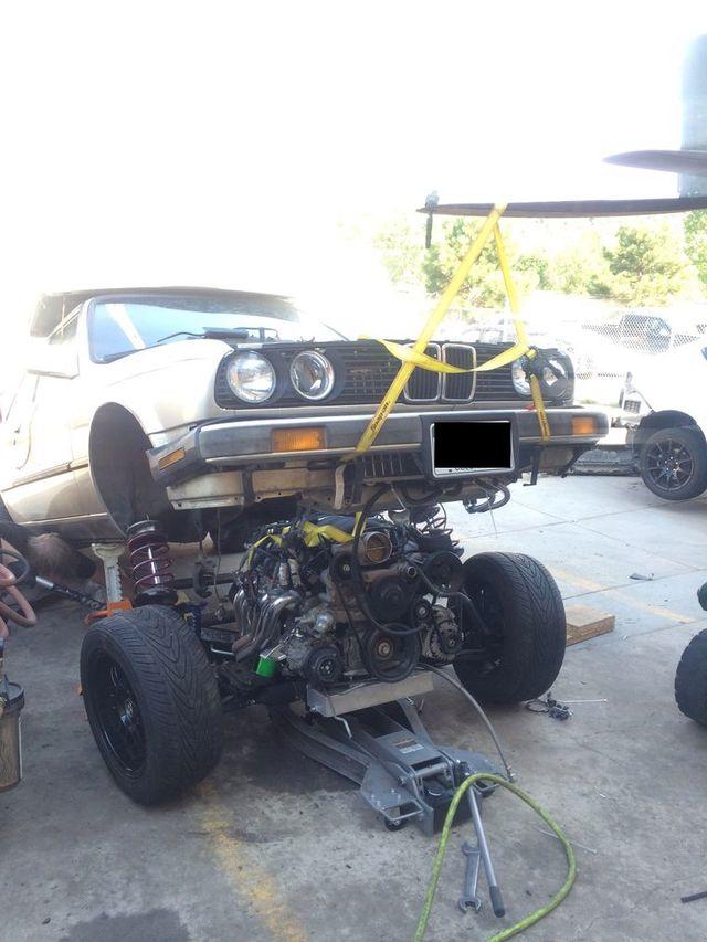My LS3 E30