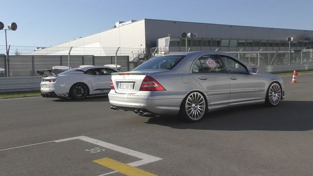 615HP Supercharged Mercedes C55 AMG