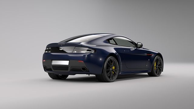 Red Bull Paint Job But No More Power For Aston Martin V8 And V12 Vantage S Special Editions
