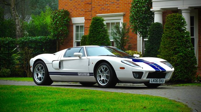 Now's Your Chance To Buy Jenson Button's Old Ford GT