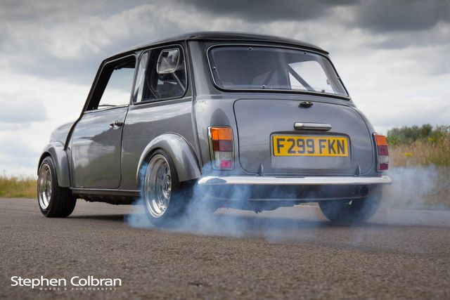Hell Hath No Fury Like This Rover Mini With A Supercharged Civic