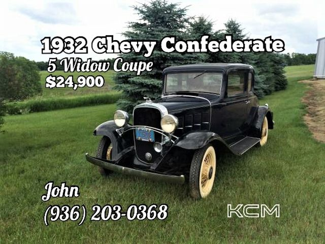 1932 Chevrolet Confederate 5 Window Coupe