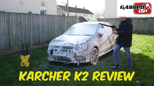 Karcher K2 Pressure Washer Review Snow Foam Demonstration