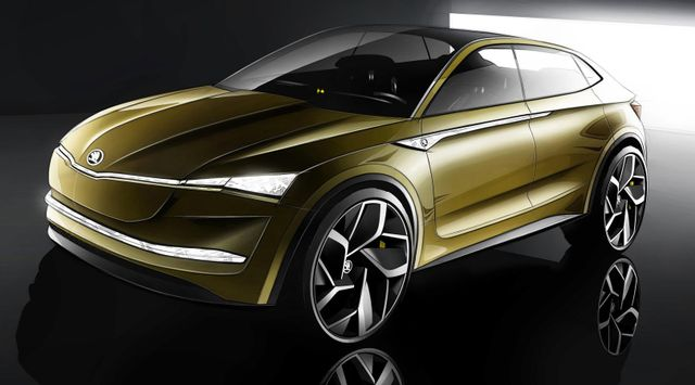Skoda's New SUV Concept Is An All-Electric, Twin-Motor