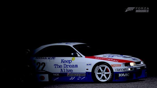 R33 Nissan Skyline GTR LM, #Forzatography