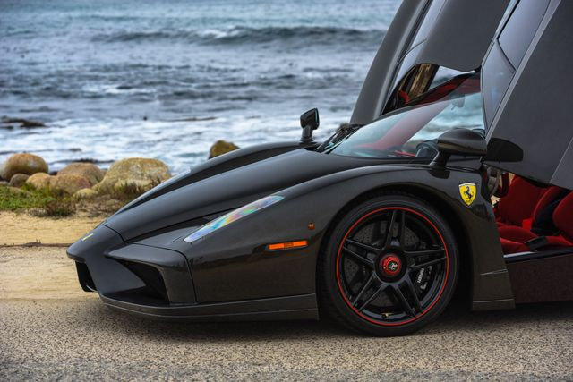 The Only Bare Carbon Fibre Ferrari Enzo In The World
