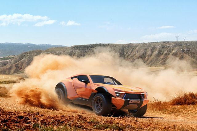 Say Hello To The Zarooq Motors Sand Racer The Off Road Lamborghini