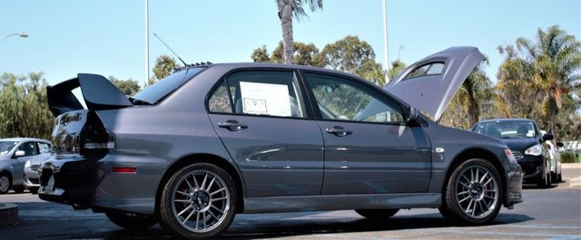 The Zero-Owner Mitsubishi Lancer Evo IX Just Sold For Nearly