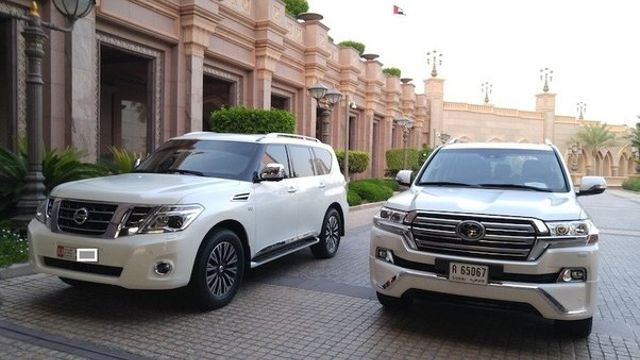 Toyota Large Suv >> Japanese Large Suv Comparison Toyota Land Cruiser J200 Vs Nissan