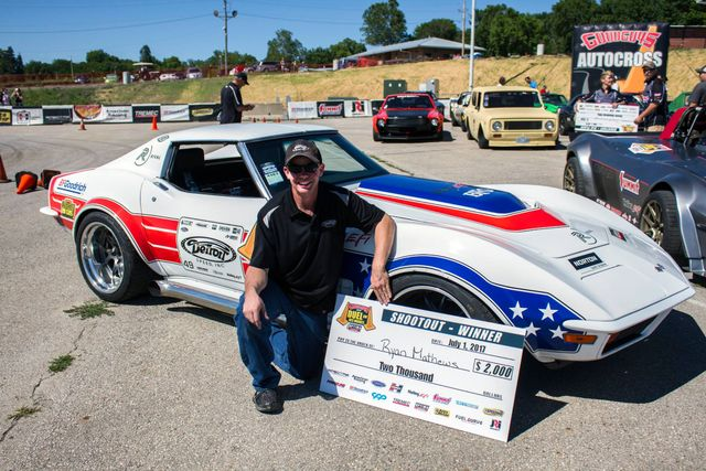 Ryan Mathews Wins Goodguys Heartland Nationals Autocross in the
