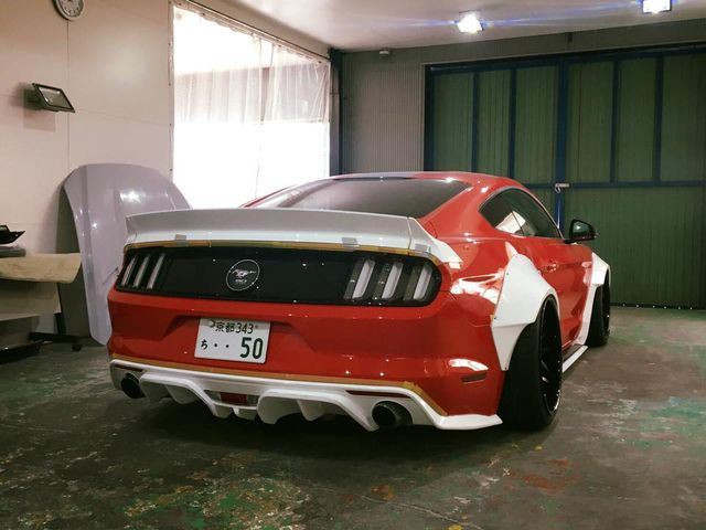 Prepare Yourselves A Liberty Walk Ford Mustang Is Happening