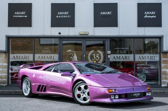 The Purple Lamborghini Diablo Se30 From Jamiroquai S Cosmic Girl