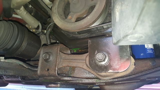 Anyone know a easy way to remove the timing cover on a GM