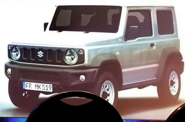 The New Suzuki Jimny Has Been Leaked, And It Looks Like A Mini G-Wagen