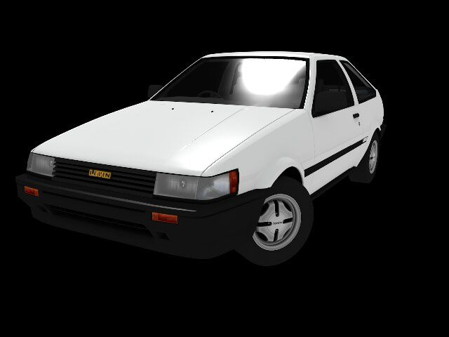 Made AE85 and AE86 Corolla Levins using the Forza Horizon 3