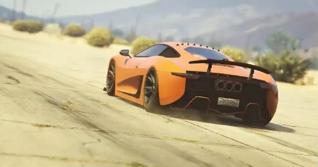 GTA Online's New Vehicle Looks Just Like The Jaguar C-X75