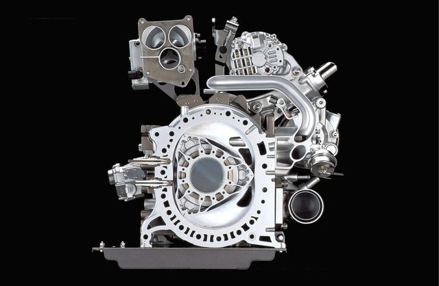 The Mid 2000s Renesis Rotary Engine