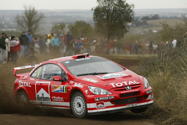 Drophead Drama Queen - Peugeot 307 CC WRC