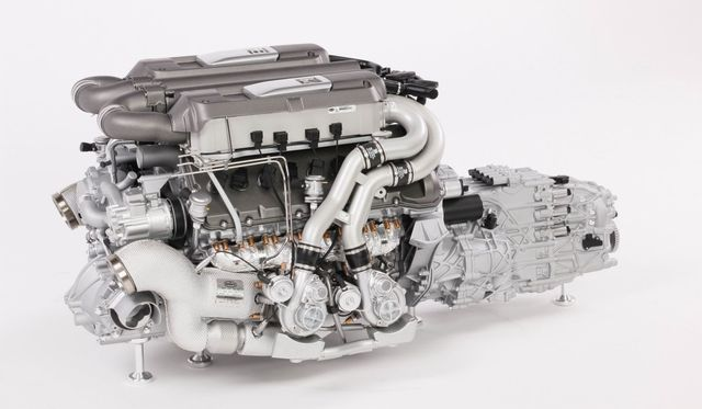 Check Out This Glorious 1:4 Scale Bugatti Chiron Engine