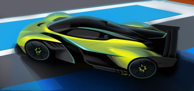 The Aston Martin Valkyrie Amr Pro Is The Track Only Beast That Can Match F1 Lap Times