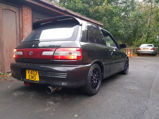 Toyota starlet gt turbo ep82