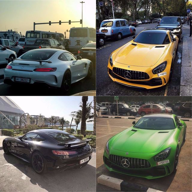 Mercedes Amg Gt R White Yellow Black Or Green