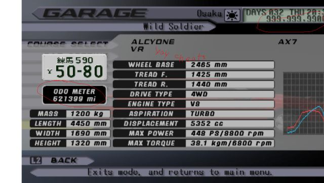 How to add cheats to PCSX2  pnach method (Tokyo Xtreme Racer 3)