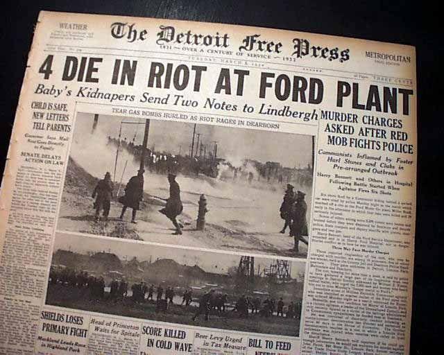 The Ford Massacre: Detroit's darkest day