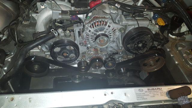 Replacing Cam Seals / Timing belt / Sparkplugs- EJ25 SOHC Motors