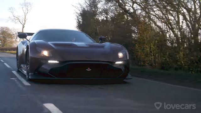 The World S Only Road Legal Aston Martin Vulcan Is Insanely Detailed