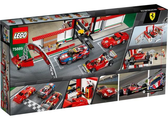 This Incredible New Lego Set Features Some Iconic Ferrari