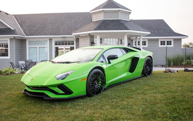 My Wednesdaywant Is This Lime Green Lamborghini Aventador S