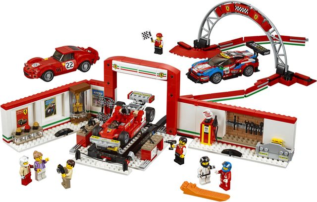 This Incredible New Lego Set Features Some Iconic Ferrari Race Cars