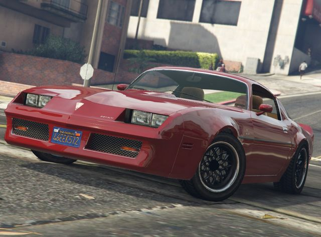 Some Classic American Muscle In Gta 5