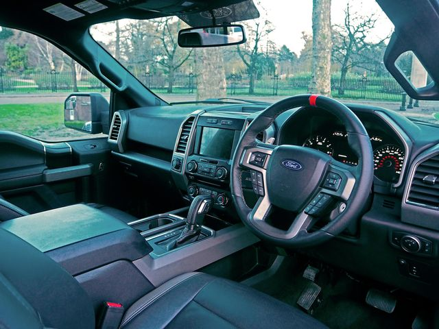This Right Hand Drive F 150 Raptor Is A Uk First But