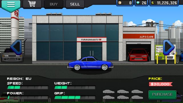 How to make a sub-six second car in Pixel Car Racer